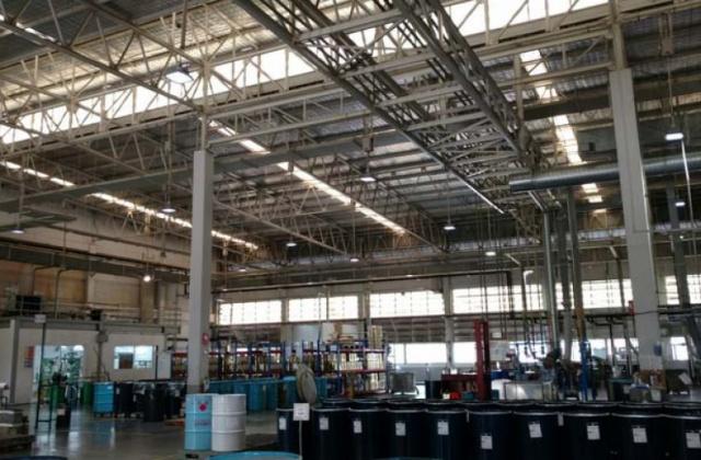 中电南方防爆灯应用在泰国墨水厂(1)